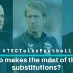 TECTalksFootball substitution