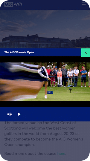 Women's Open screen