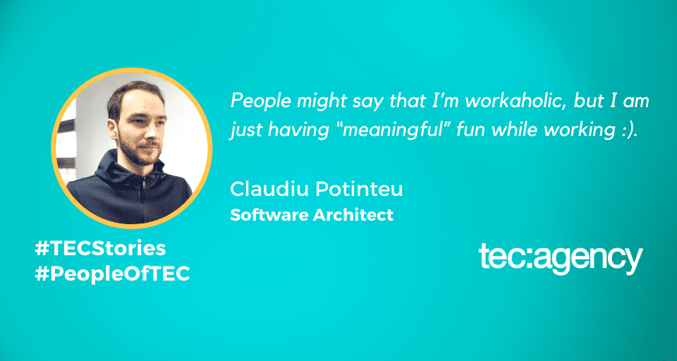 TECStories Claudiu Pontinteu